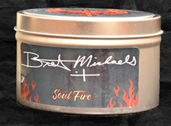 Bret Michaels Soul Fire Candle - Tin