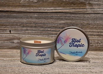 Bret Michaels Hot Tropic Candle - Tin